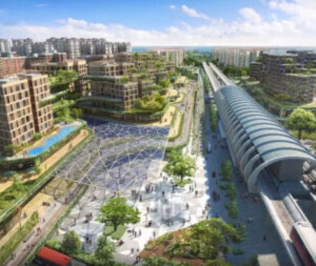 artist impression of Pasir Ris 8 integrated development