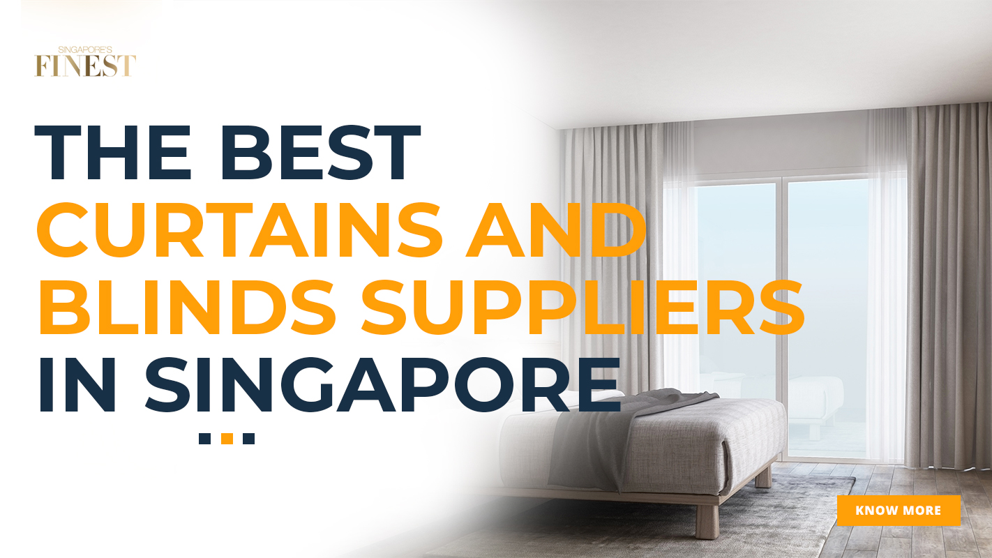 curtain and blinds suppliers ad banner in finest