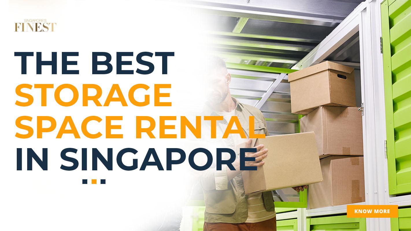 storage space rental ad banner