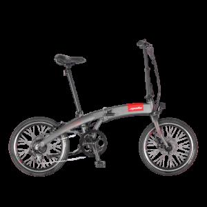 Apollo Smart 1S Electric Bike in grey