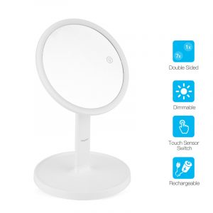 CkeyiN LED Double Sides Makeup vanity Mirrorwith lights