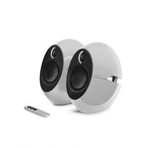 edifier luna computer speakers in white