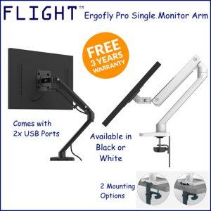 Flight ergofly pro single monitor arm