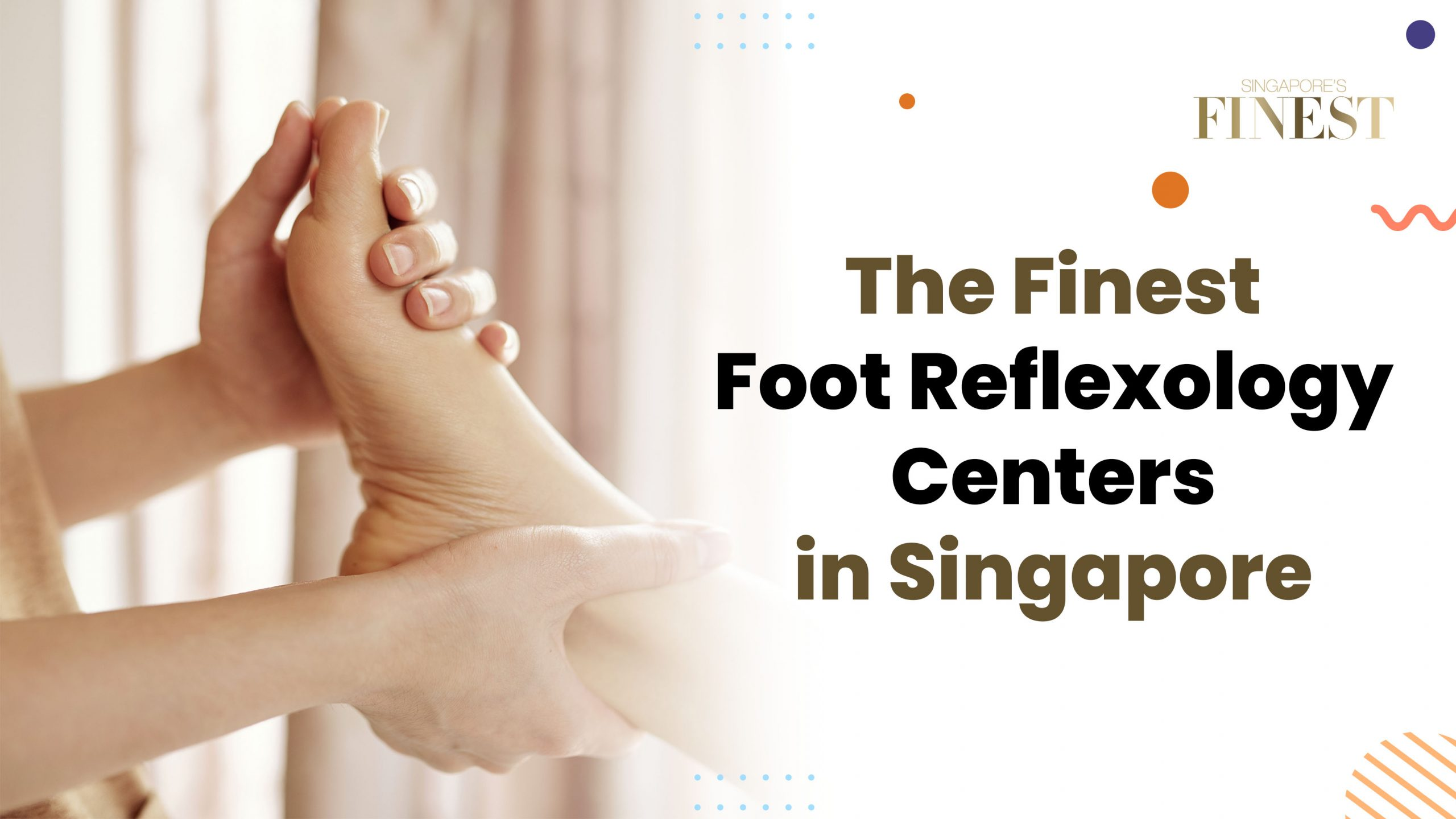 foot reflexology centers in Singapore