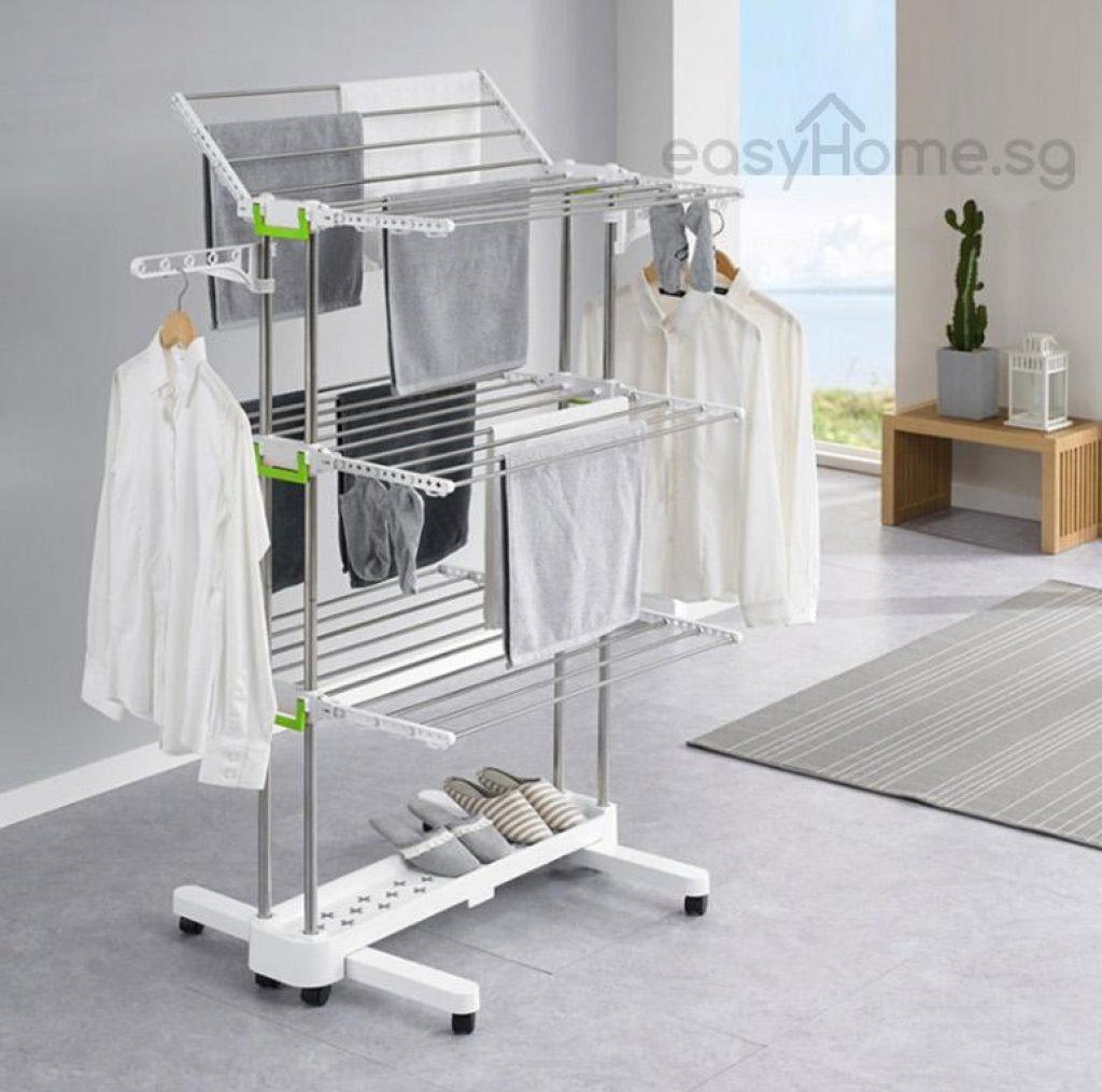 Korean clothes rack br505