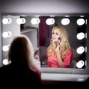 niceechop vanity makeup mirror with light