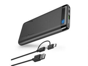 Omars 10000 power bank with USB-C adapter