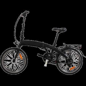 veebike f7 electric bike in black