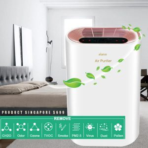 ALANO Air Purifier with HEPA Filter Ionizer and Dust Remover 01