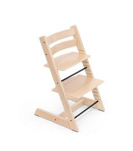 Tripp Trapp® chair Natural, Beech Wood. high chair
